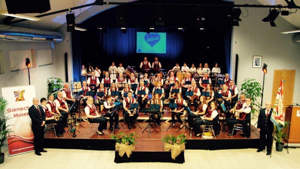 100 Joer Garnecher Musek – Concert Militärmusek