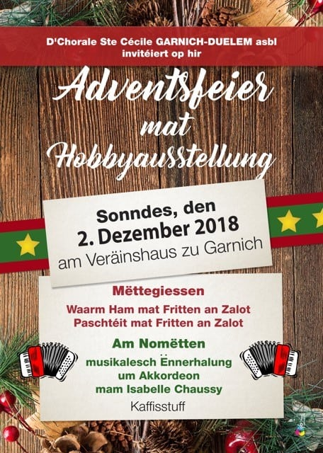 Adventsfeier 2.12.2018