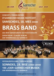 Concert Brass Band 18.5.2019