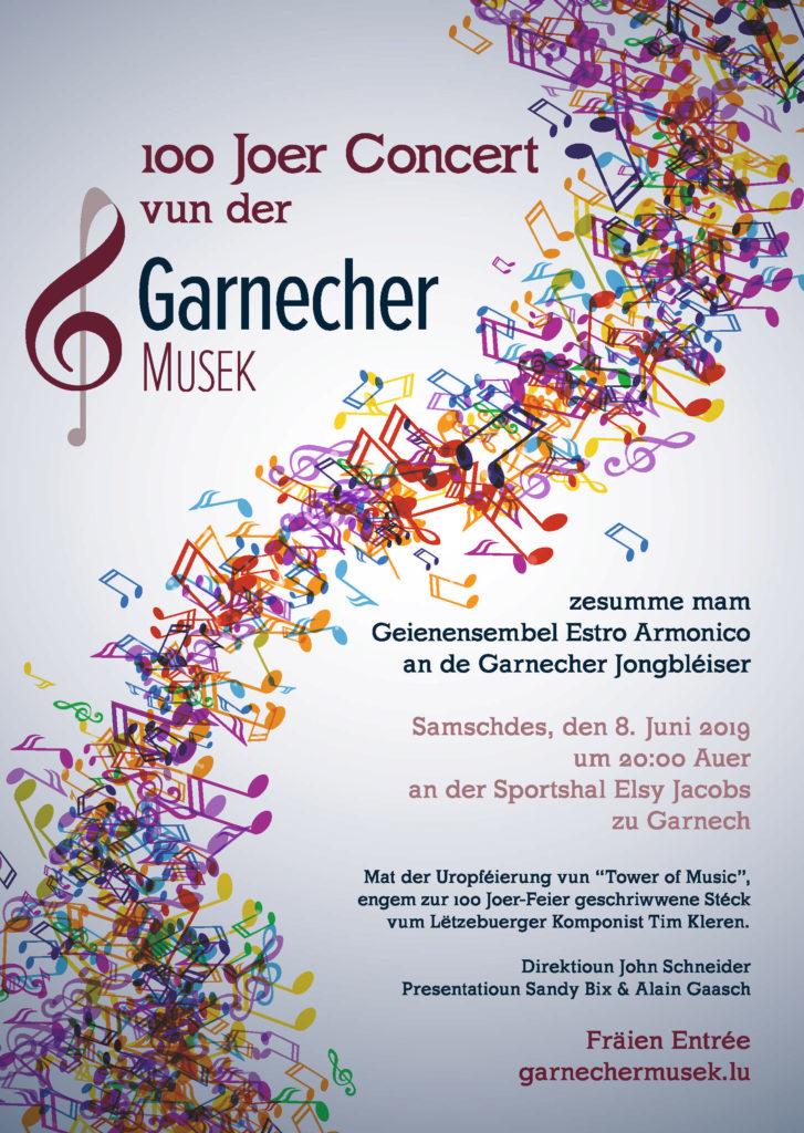100 Joer Garnecher Musek – Galaconcert
