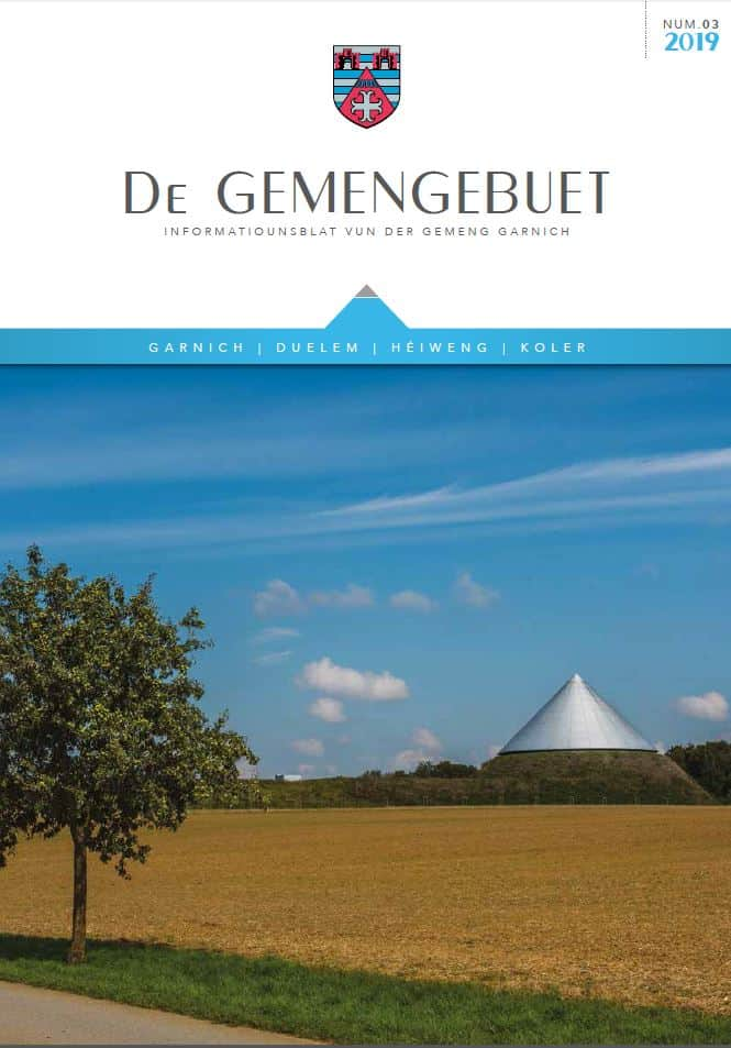 Gemengebuet 2019_03 - Cover