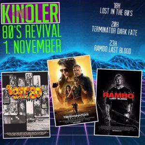 Kinoler 1.11.2019