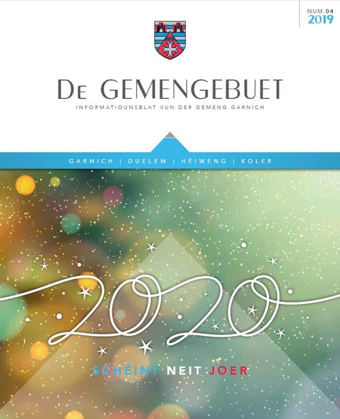 Gemengebuet 2019_04 - Cover